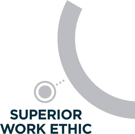 superior work ethic